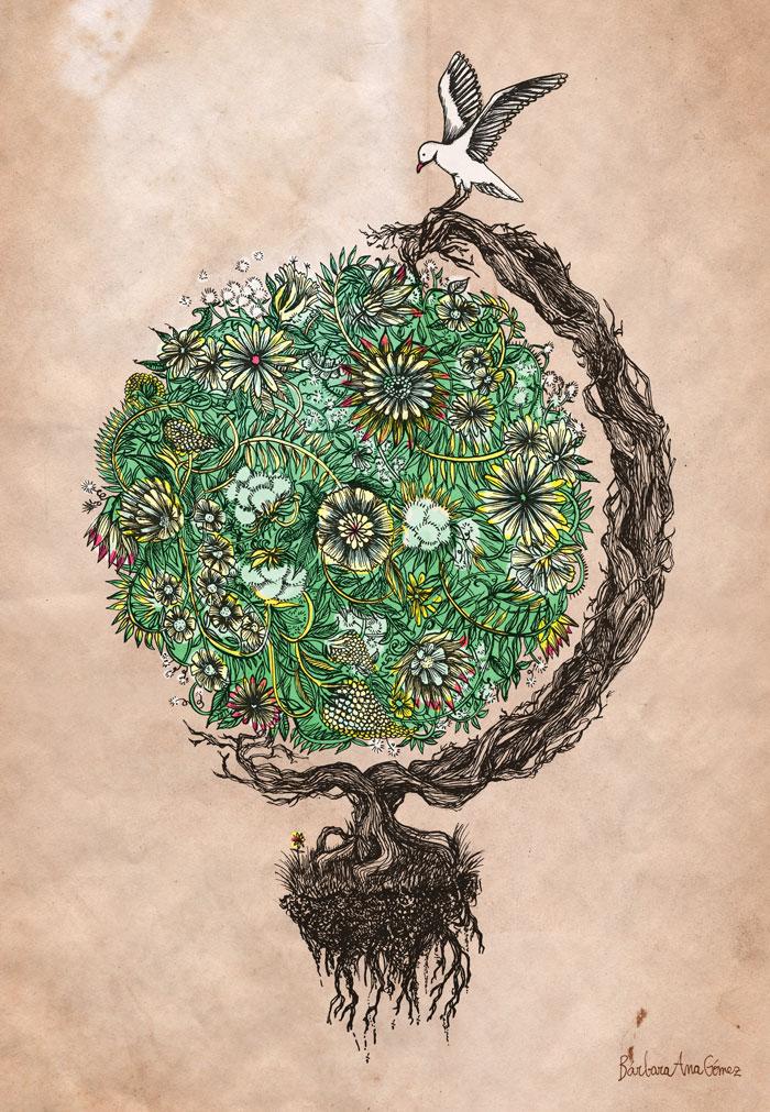 Barbarana Illustration